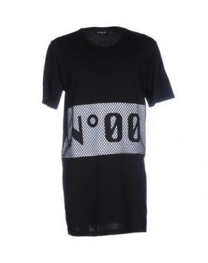 Футболка NUMERO 00. Цвет: черный