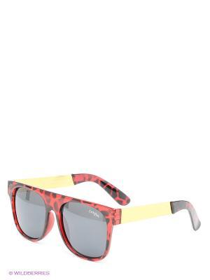 Солнцезащитные очки Funky Fish. Цвет: красный, черный