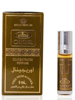 Арабские масляные духи Оригинал (Original), 6 мл Al Rehab. Цвет: хаки, золотистый