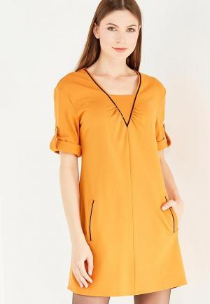 Платье Giulia Rossi. Цвет: оранжевый