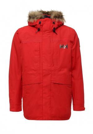 Куртка утепленная Helly Hansen. Цвет: красный