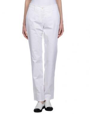 Повседневные брюки ALTEA dal 1973. Цвет: белый