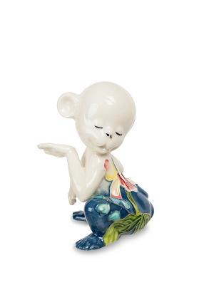 Фигурка Обезьяна (Pavone) Pavone. Цвет: синий, бежевый