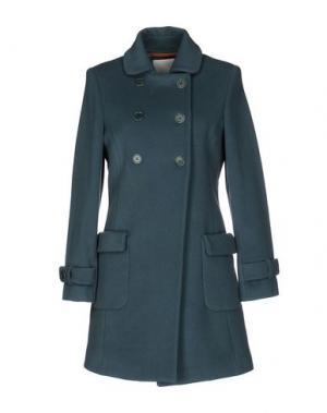 Пальто TROU AUX BICHES. Цвет: зеленый