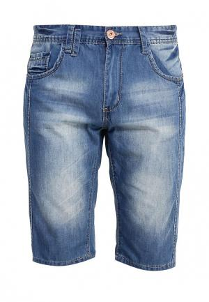 Шорты джинсовые Justboy. Цвет: синий