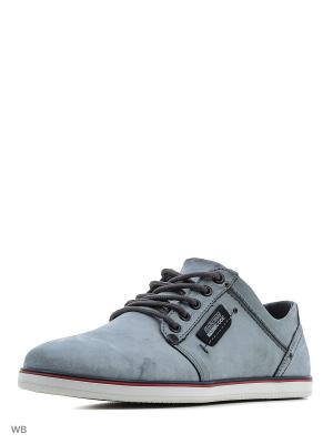 Ботинки Calipso. Цвет: серо-голубой