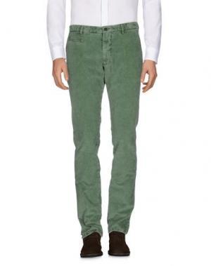 Повседневные брюки ALTEA. Цвет: зеленый