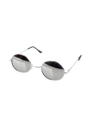 Солнцезащитные очки Funky Fish. Цвет: серебристый