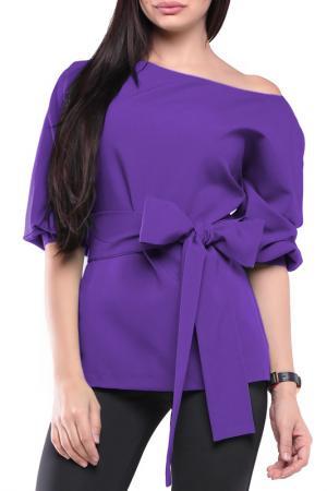 Блуза Laura Bettini. Цвет: фиалковый
