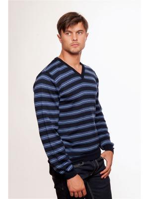 Пуловер VON DUTCH. Цвет: синий