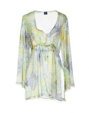 Блузка MOSAIQUE. Цвет: желтый