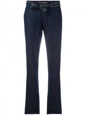 Прямые брюки Vanessa Bruno Athé. Цвет: синий