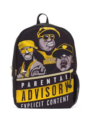 Рюкзак Mojo Backpacks. Цвет: желтый, черный