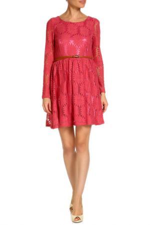 Платье Mela london. Цвет: pink