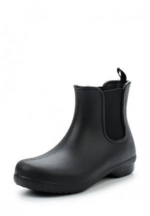 Резиновые ботинки Crocs. Цвет: черный