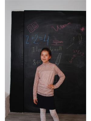 Блузка ZEBRA KIDS. Цвет: коричневый