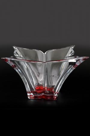 Фруктовница 36 см Crystalite Bohemia. Цвет: прозрачный