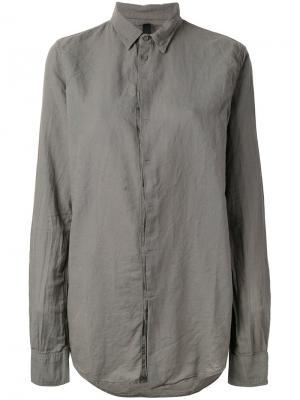Рубашка с потайной застежкой Poème Bohémien. Цвет: серый