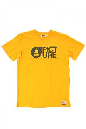 Футболка детская  Basement Start Yellow Picture Organic. Цвет: желтый
