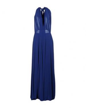 Длинное платье VON VONNI. Цвет: синий