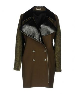 Легкое пальто BOUCHRA JARRAR. Цвет: зеленый-милитари