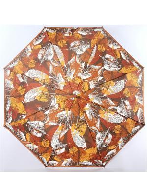 Зонт Airton. Цвет: темно-коричневый, бежевый