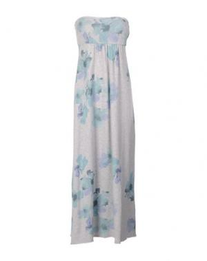 Платье до колена E-GÓ. Цвет: серый