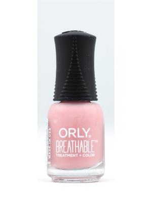 Профессиональный дышащий уход(цвет) за ногтями 913 PAMPER ME ORLY. Цвет: розовый
