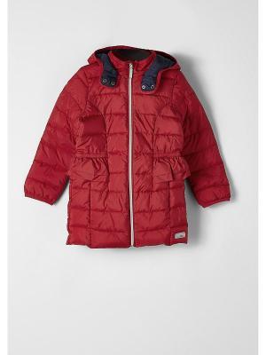 Пальто S.OLIVER. Цвет: красный