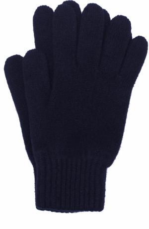 Кашемировые перчатки Johnstons Of Elgin. Цвет: темно-синий