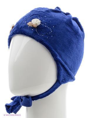 Шапка Jamiks. Цвет: голубой