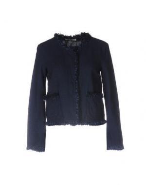 Пиджак NIOI. Цвет: темно-синий