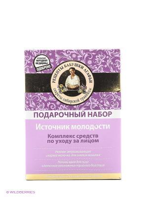 Подарочный набор Источник молодости Рецепты бабушки Агафьи. Цвет: белый