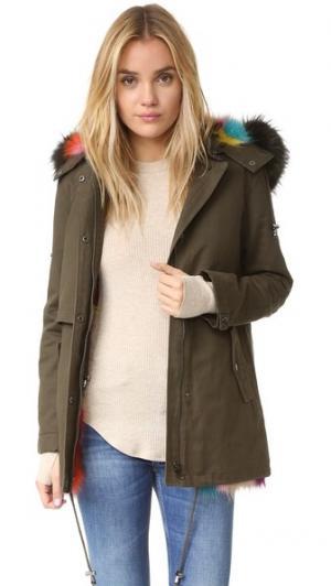Разноцветная армейская куртка Bodia Jocelyn. Цвет: мульти