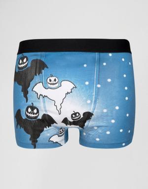 SSDD Боксеры Halloween. Цвет: темно-синий