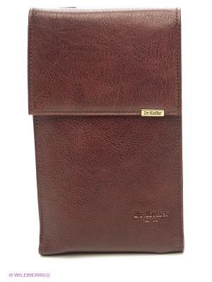 Нагрудный кошелек Dr. Koffer. Цвет: коричневый
