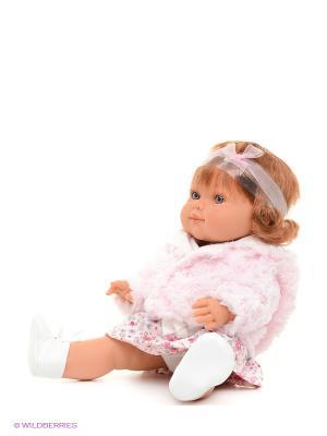 Кукла Клаудия Antonio Juan. Цвет: бежевый, бледно-розовый