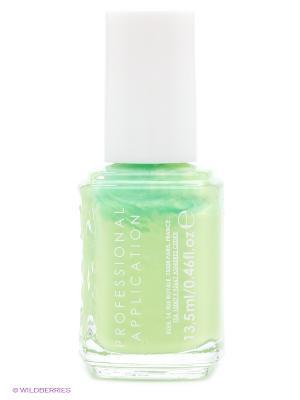 Лак для ногтей 914 ЗВУКОВОЙ РЕЗОНАНС VIBRANT VIBES Essie Professional. Цвет: светло-зеленый