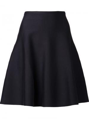 Расклешенная юбка Maison Ullens. Цвет: синий
