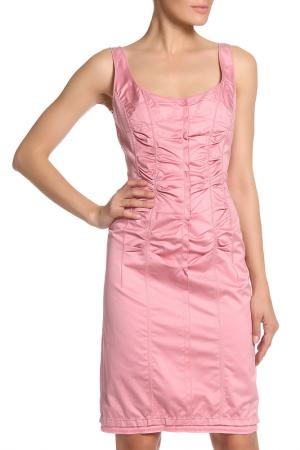 Платье на бретелях Nina Ricci. Цвет: розовый