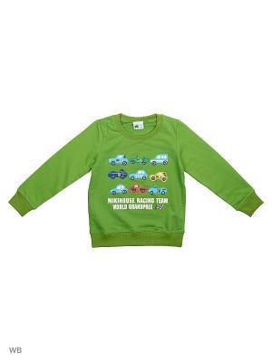 Свитшот Sago Kids i Ant Domain. Цвет: зеленый, темно-зеленый