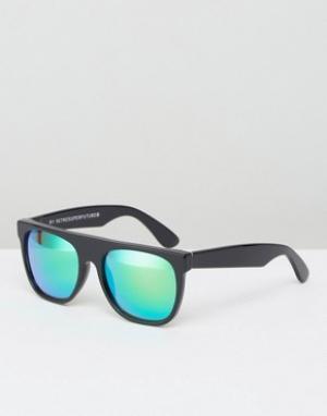 Retrosuperfuture Солнцезащитные очки. Цвет: черный