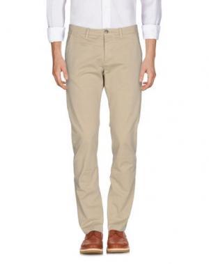 Повседневные брюки UNIFORM. Цвет: бежевый