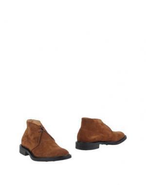 Полусапоги и высокие ботинки JOHN BAKERY. Цвет: коричневый