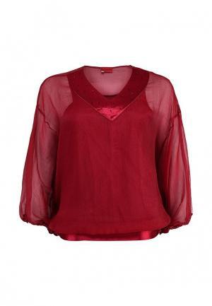 Блуза O`Queen. Цвет: бордовый