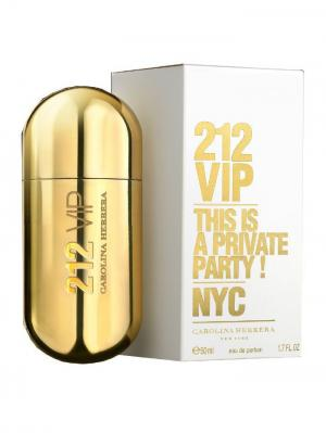 Carolina Herrera 212 Vip lady edp 50 ml. Цвет: золотистый
