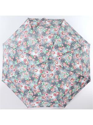 Зонт ArtRain. Цвет: светло-серый, светло-коралловый