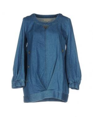 Джинсовая рубашка HEIMSTONE. Цвет: синий