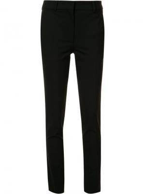 Классические брюки кроя слим Victoria Beckham. Цвет: чёрный