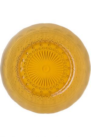 Тарелка, 21,5см Zafferano. Цвет: желтый